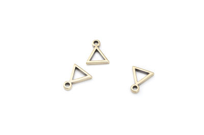 pendant triangle 8x11mm x30pcs