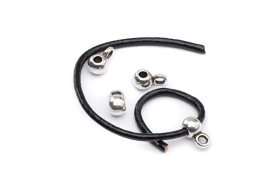 slider 5mm with pendant holder for 2mm cord x50pcs