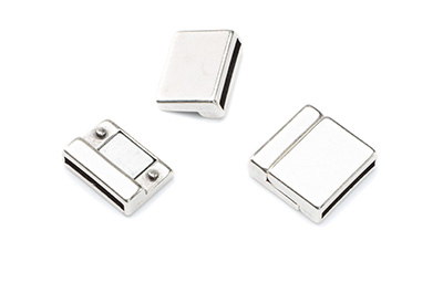 magnetic clasp 18x8mm for 15mm flat band x3pcs