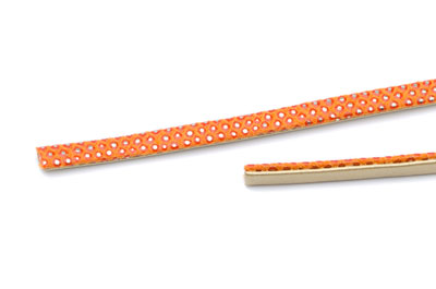flat band  lezard  5mm orange x1m